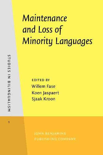 9789027241054: Maintenance and Loss of Minority Languages (Studies in Bilingualism)
