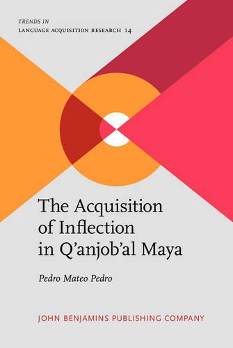 9789027244031: The Acquisition of Inflection in Q'anjob'al Maya (Trends in Language Acquisition Research)