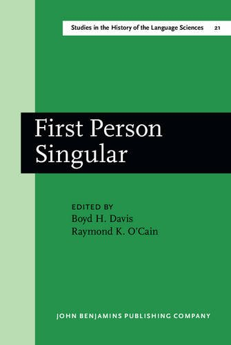 First Person Singular: Papers from the Conference on an Oral Archive for the History of American ...