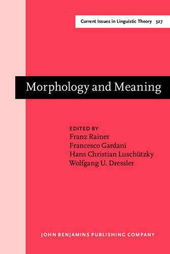 9789027248466: Morphology and Meaning: Selected papers from the 15th International Morphology Meeting, Vienna, February 2012 (Current Issues in Linguistic Theory)