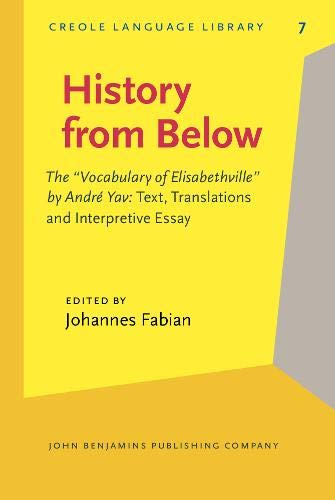 9789027252272: History from Below: The