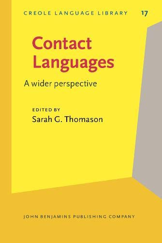 9789027252395: Contact Languages: A wider perspective (Creole Language Library)