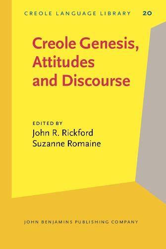 9789027252425: Creole Genesis, Attitudes and Discourse: Studies celebrating Charlene J. Sato (Creole Language Library)
