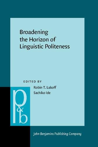 Broadening the Horizon of Linguistic Politeness: Sachiko Ide