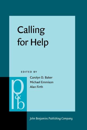 Calling for Help: Language and social interaction: John Benjamins Publishing