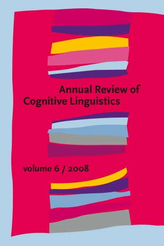 9789027254863: Annual Review of Cognitive Linguistics: Volume 6: v. 6