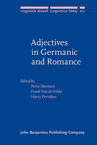 9789027255952: Adjectives in Germanic and Romance (Linguistik Aktuell/Linguistics Today)