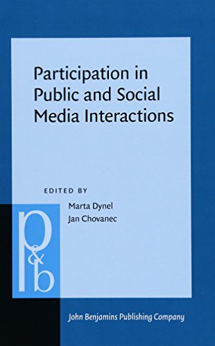 Participation in Public and Social Media Interactions: Marta Dynel