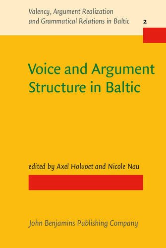 9789027259103: Voice and Argument Structure in Baltic (Valency, Argument Realization and Grammatical Relations in Baltic)