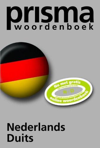 9789027493194: Prisma woordenboek Nederlands-Duits