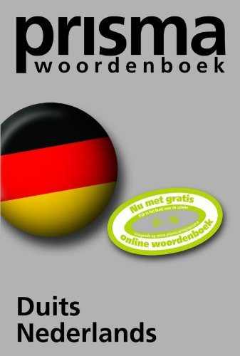9789027493231: Prisma woordenboek Duits-Nederlands / druk 34