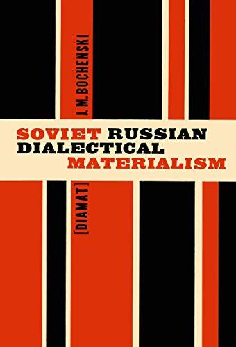 9789027700438: Soviet Russian Dialectical Materialism [Diamat]