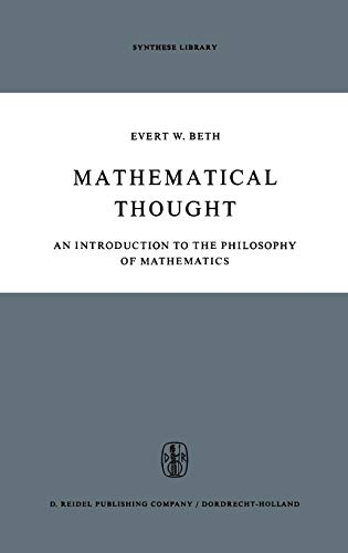 9789027700704: Mathematical Thought: An Introduction to the Philosophy of Mathematics (Synthese Library)