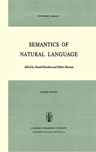 9789027703040: Semantics of Natural Language (Synthese Library)