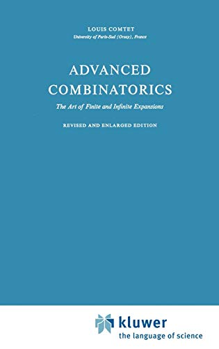9789027703804: Advanced Combinatorics: The Art of Finite and Infinite Expansions
