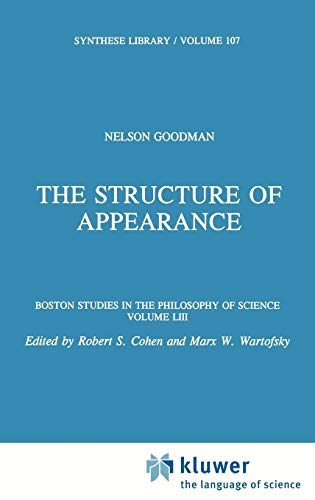 The Structure of Appearance - Nelson Goodman