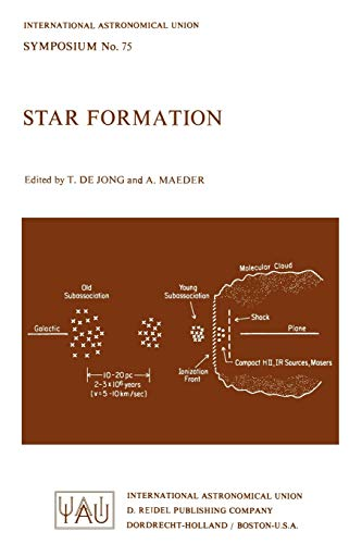 9789027707970: Star Formation (International Astronomical Union Symposia)