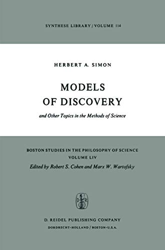 9789027708120: Models of Discovery: and Other Topics in the Methods of Science (Boston Studies in the Philosophy and History of Science)
