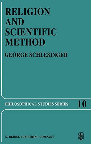 Religion and scientific method.: Schlesinger, George.
