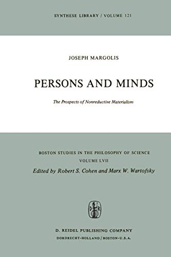 Persons and Minds: The Prospects of Nonreductive: Margolis, Joseph