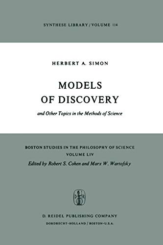9789027709707: Models of Discovery: and Other Topics in the Methods of Science (Boston Studies in the Philosophy and History of Science)