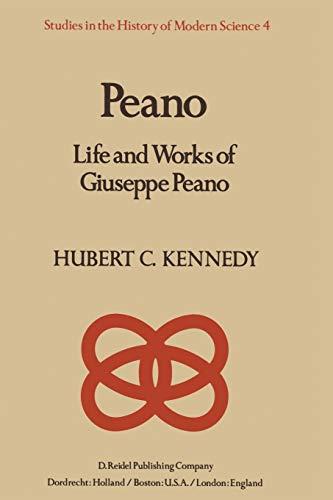9789027710680: Peano: Life and Work of Giuseppe Peano