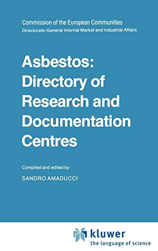 Asbestos Directory of Research and Documentation Centres