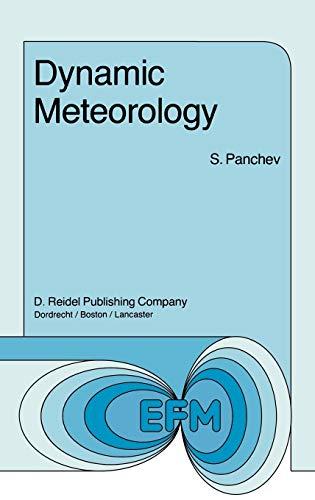 Dynamic Meteorology (Hardback) - S. Panchev