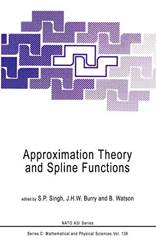 Approximation Theory and Spline Functions: Proceedings (Hardback)