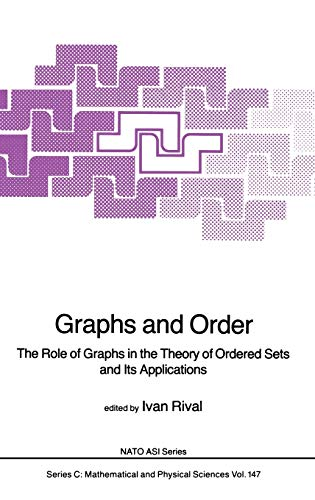 9789027719430: Graphs and Order: The Role of Graphs in the Theory of Ordered Sets and Its Applications (Nato Science Series C:)