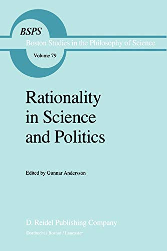Rationality in Science and Politics. - ANDERSSON, GUNNAR [ED.].