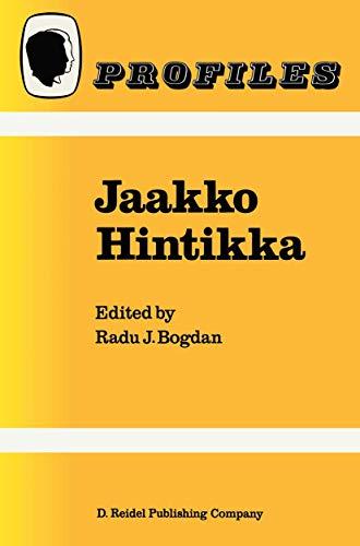 9789027722928: Jaakko Hintikka (Profiles)