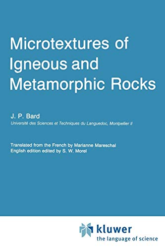 9789027723130: Microtextures of Igneous and Metamorphic Rocks (Petrology and Structural Geology)