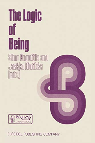 The Logic of Being: Historical Studies (Paperback)