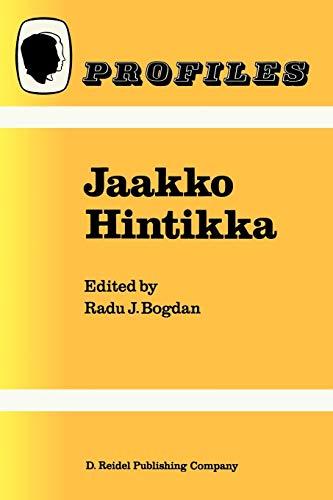 9789027724021: Jaakko Hintikka (Profiles) (Volume 8)