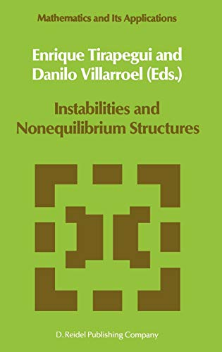 9789027724205: Instabilities and Nonequilibrium Structures (Mathematics and Its Applications) (No. 1)