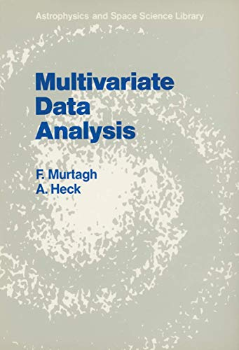 9789027724250: Multivariate Data Analysis (Astrophysics and Space Science Library)
