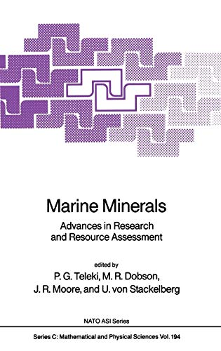 9789027724366: Marine Minerals: Advances in Research and Resource Assessment (Nato Science Series C:)