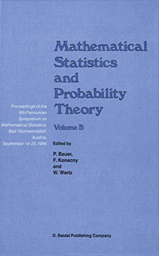 9789027725813: Mathematical Statistics and Probability Theory, Vol. B: Statistical Inference and Methods
