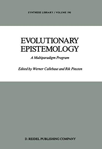 9789027725820: Evolutionary Epistemology: A Multiparadigm Program (Synthese Library)