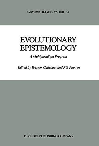9789027725820: Evolutionary Epistemology: A Multiparadigm Program (Synthese Library)
