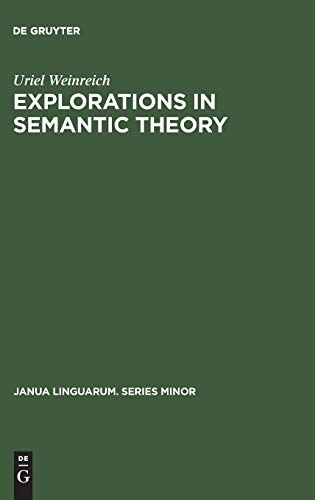 9789027920485: Explorations in Semantic Theory