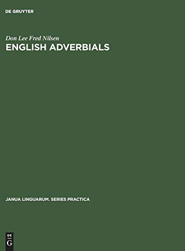 9789027921468: English Adverbials (Janua Linguarum Series Practica)