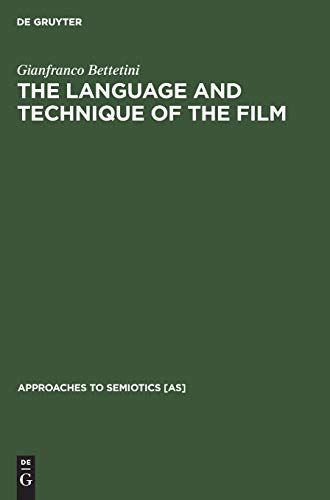 9789027924124: The Language and Technique of the Film (Approaches to Semiotics [as])