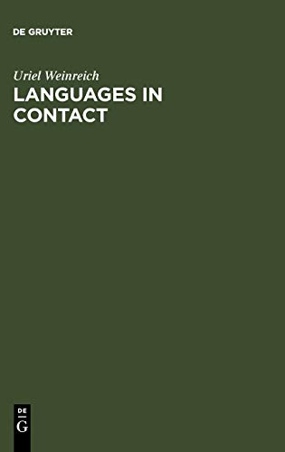9789027926890: Languages in Contact: Findings and Problems