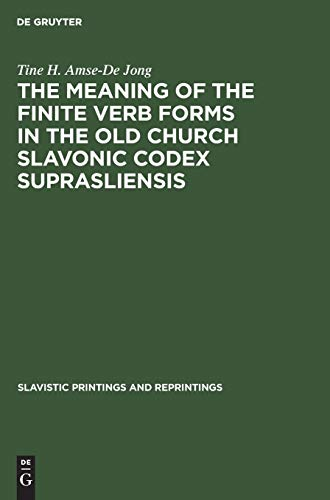 The Meaning of the Finite Verb Forms: Tine H. Amse-de