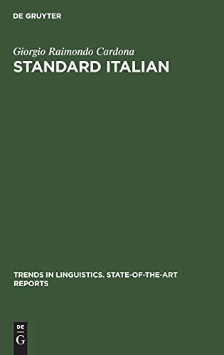 Standard Italian: Giorgio Raimondo Cardona