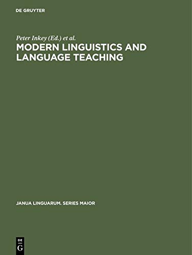 Modern Linguistics and Language Teaching: Society for: n/a