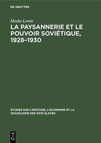 La Paysannerie Et Le Pouvoir Sovietique, 1928-1930 (9027975132) by [???]