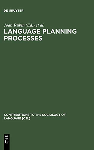9789027977144: Language Planning Processes